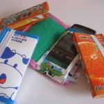 Etui for mobil laget av japansk kartong