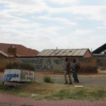 This house is not for sale. Soweto.