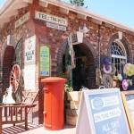 Bruktbutikk i Kalk Bay.