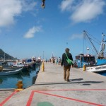 Fiskebåter i Kalk Bay.