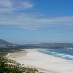 Hvite strender i Cape Town.