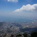Cape Town. Bildet er tatt fra Table Montain.